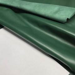 Кожа КРС, цвет зелёный, 0.5-0.7 мм, Италия (для GUCCI)