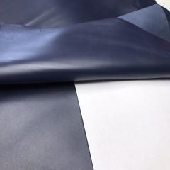 Кожа ягненка, цвет тёмно-синий, 0.8-1.0 мм, Италия (для GUCCI)