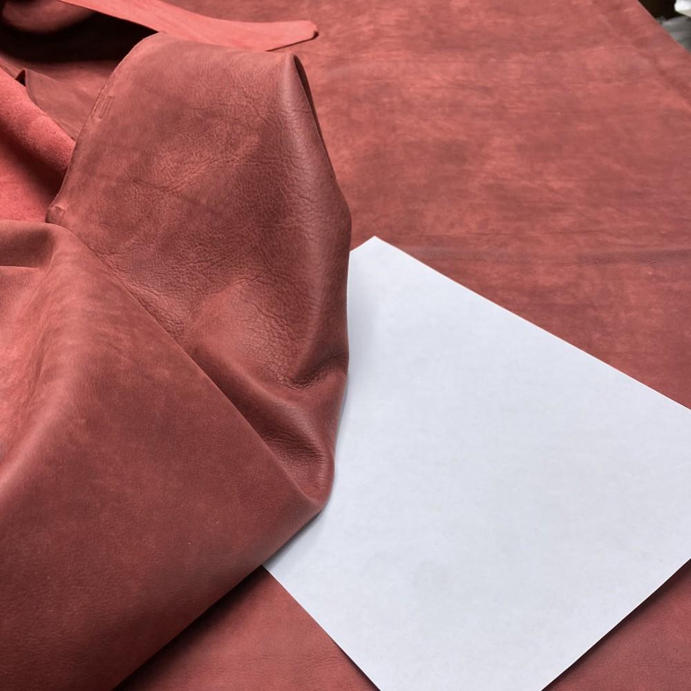 Кожа КРС, 1.3-1.5 мм, цвет 1006 Ibisco, SAVANA, ANICA, Италия