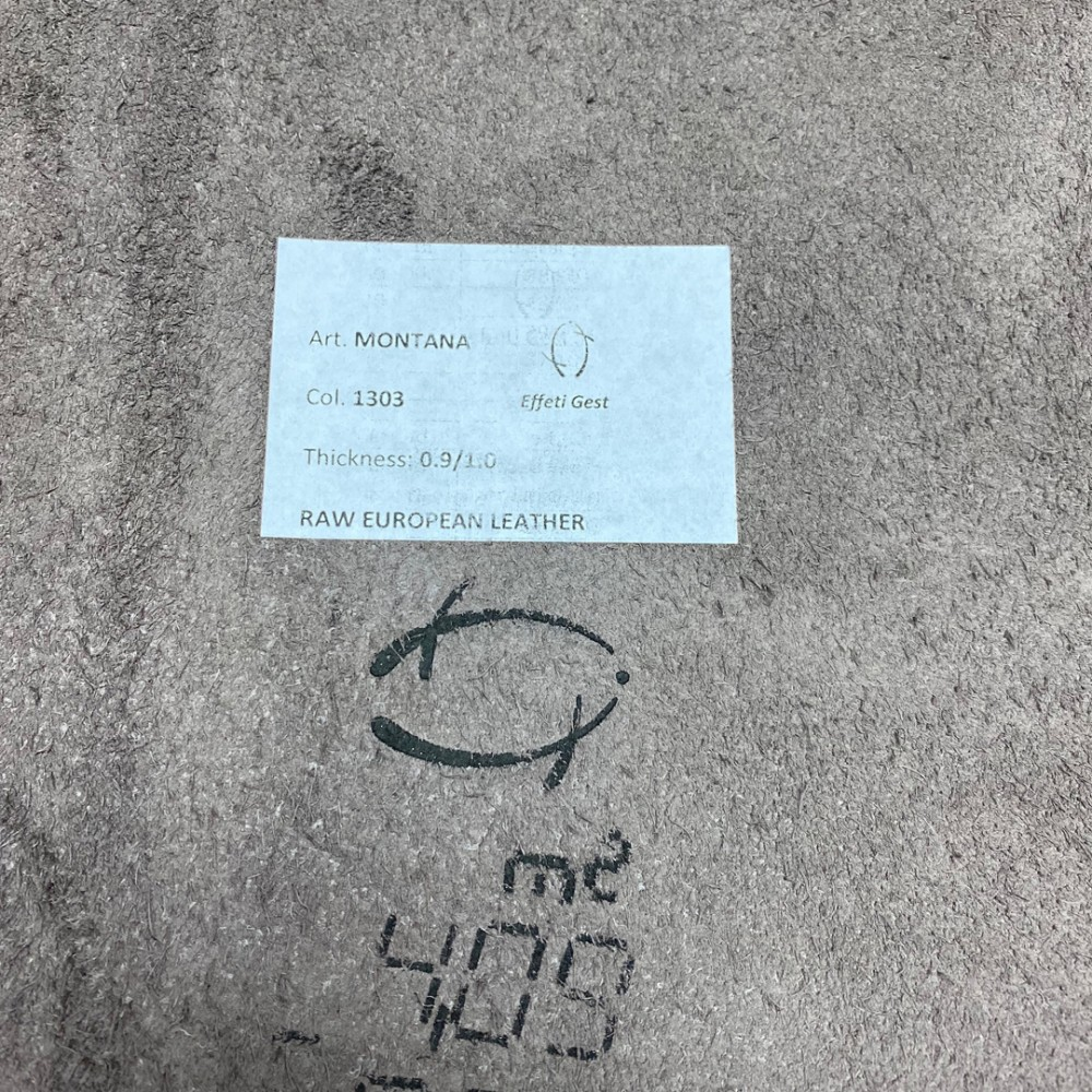 Кожа КРС, 0.9-1.1 мм, цвет 1303 Mocco, MONTANA, ANICA, Италия