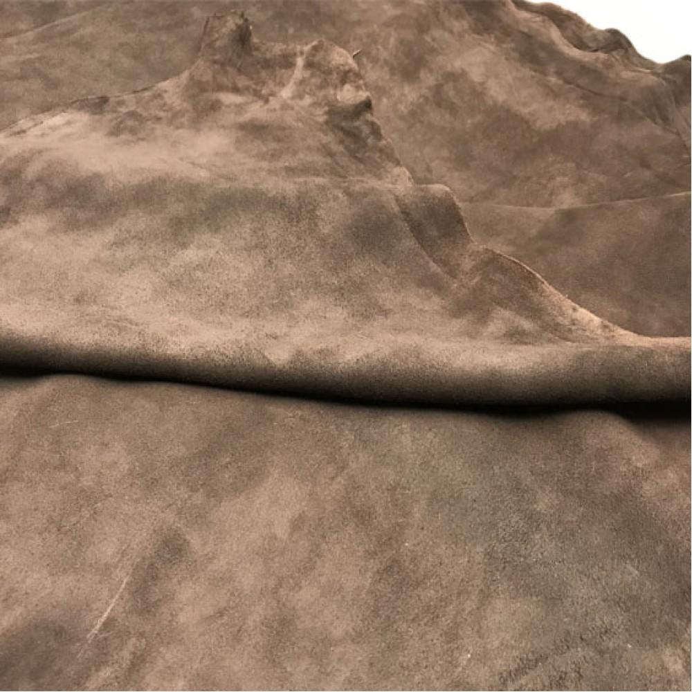 Велюр МРС, 0,8 - 1,0 мм, цвет коричневый, ИТАЛИЯ