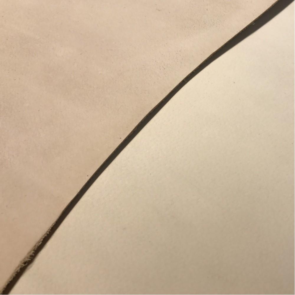 Кожа растительного дубления, нешлифованая, Full-grain, 3.5-4.0 мм, Италия