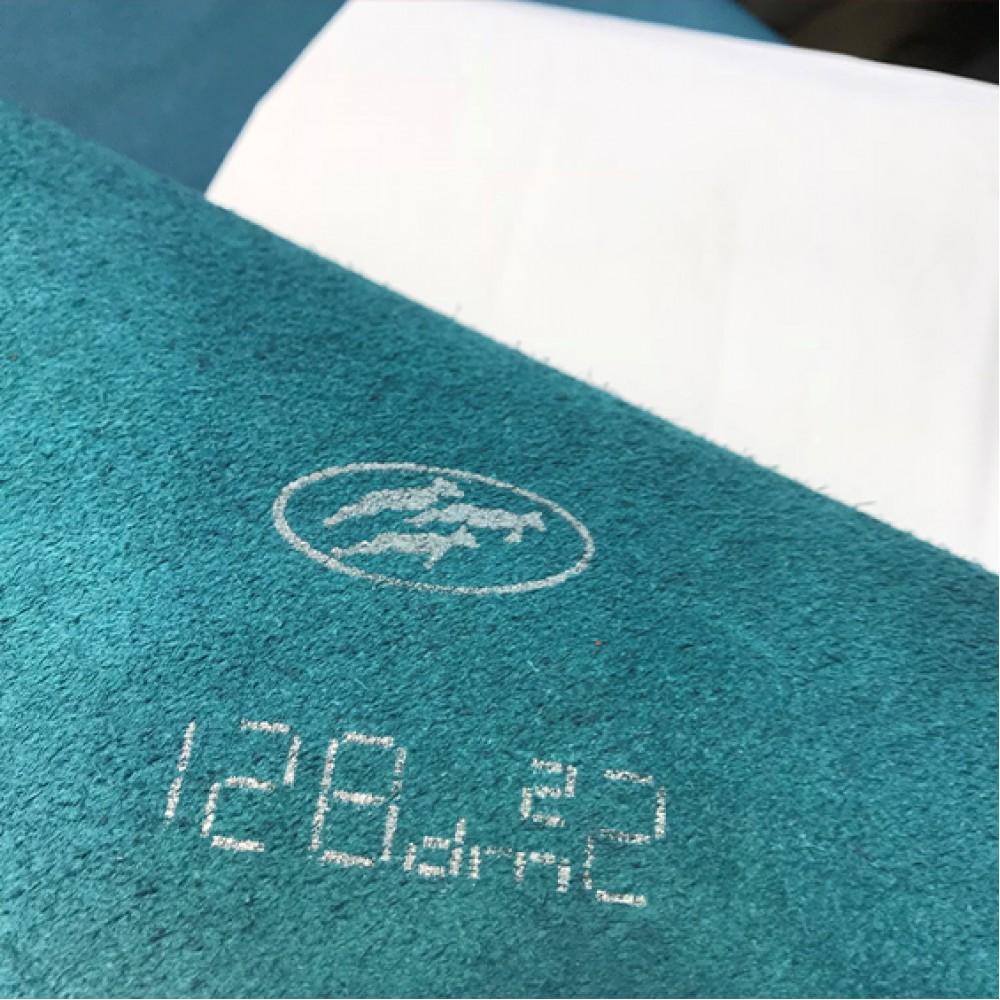 Тиснение под икру, 0.8-1.0 мм, бирюзовая, ИТАЛИЯ