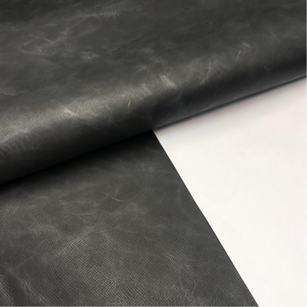 КРС с тиснением, графит, 1.4-1.6 мм, ИТАЛИЯ