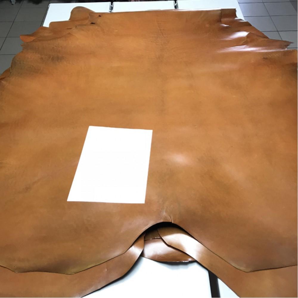 Кожа РД буйвола, 1.0-1.2 и 1.4-1.6 мм, карамель, Италия