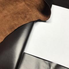 КРС (буйвол) тёмно-коричневый, 1.0-1.2 мм, ИТАЛИЯ