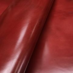 Кожа РД буйвола, 1.4-1.6 мм, красная, Италия