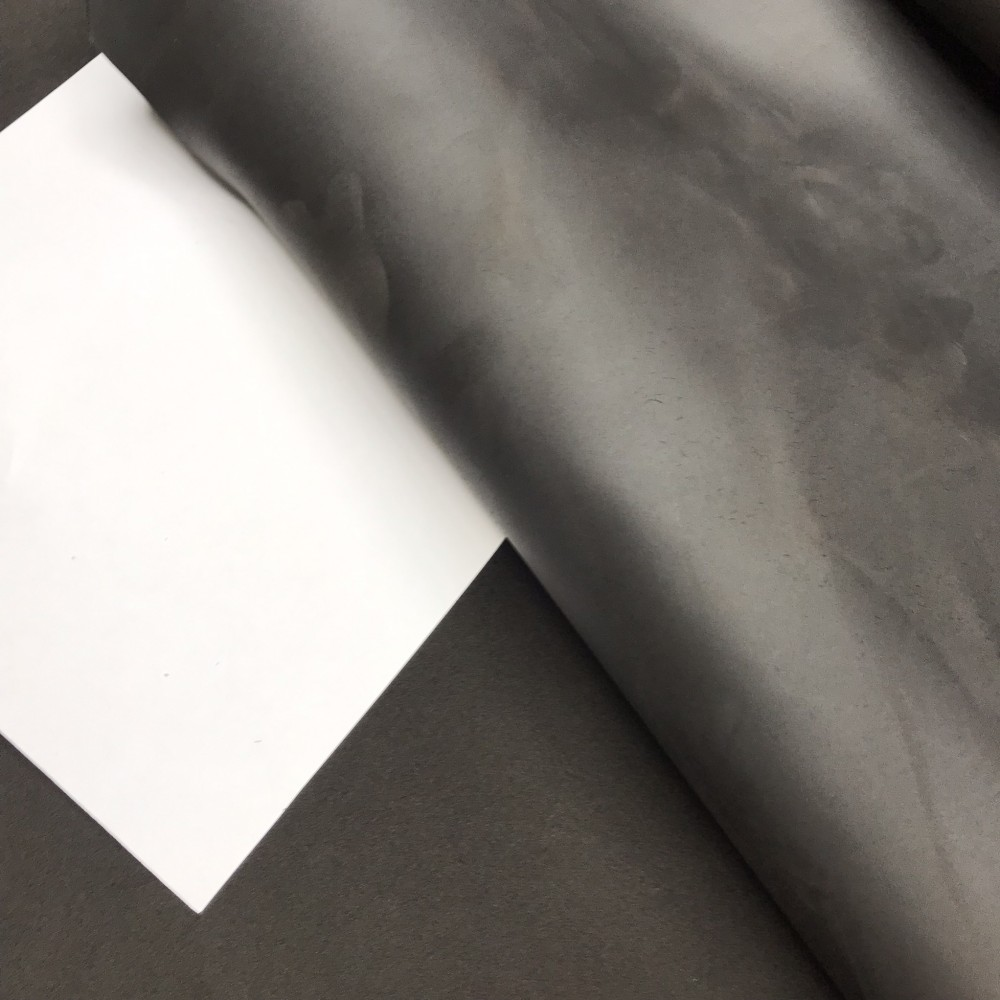 Кожа КРС сrazy horse, цвет тёмно-коричневый, 1.4-1.6 мм, Россия