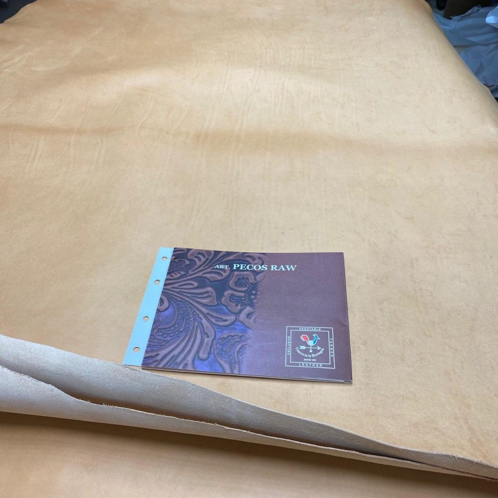Краст РД плечи, 1.3 мм, цвет Naturale, PECOS RAW, LA BRETAGNA, Италия