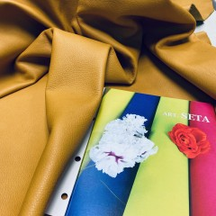 Кожа РД, 1.0-1.2 мм, цвет Senape, SETA, LA BRETAGNA, Италия