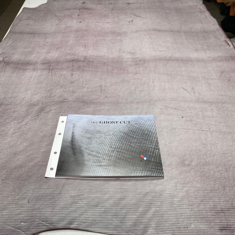 Кожа РД, 1.8-2.0 мм, цвет Viola, Ghost CUT, LA BRETAGNA, Италия