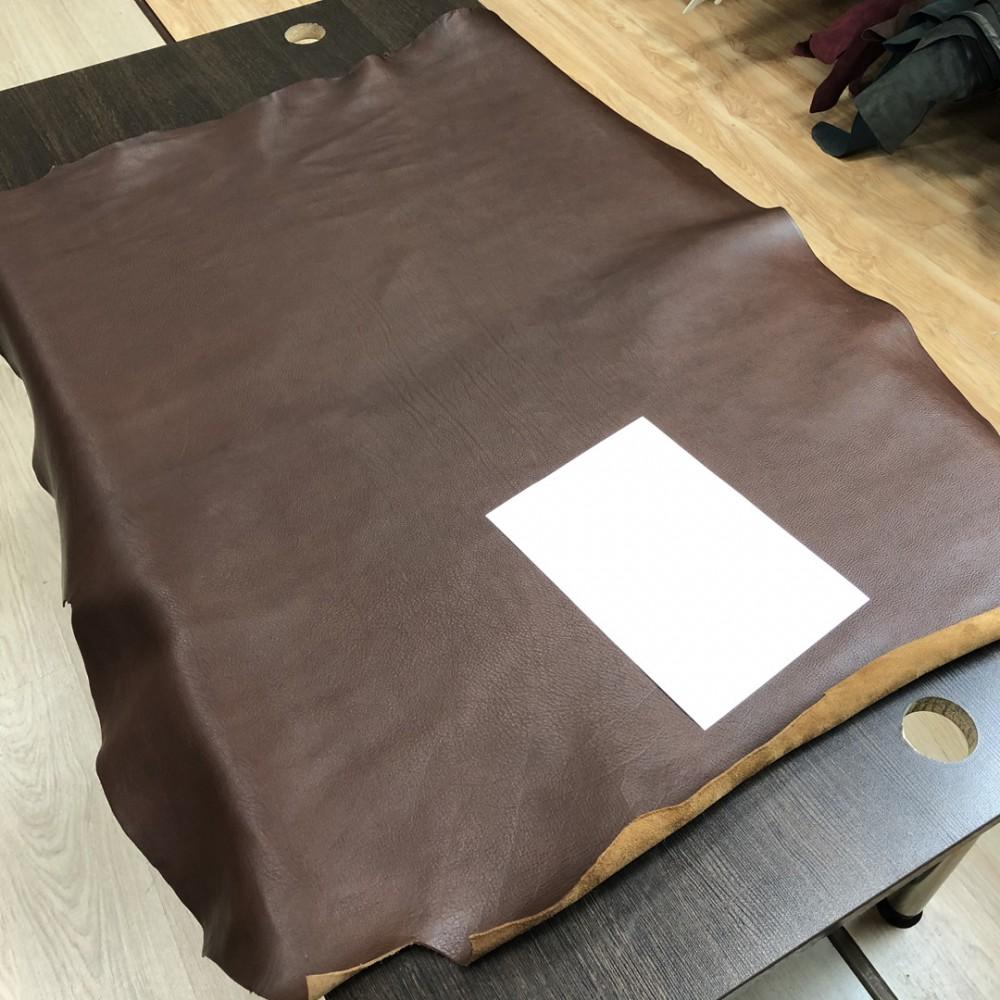 Кожа РД плечи, 1.7 мм, цвет T.Moro, ARIZONA, LA BRETAGNA, Италия
