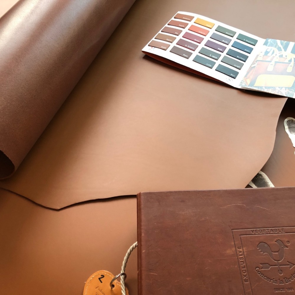 Плечи РД, 3.0-3.2 мм, цвет Sigaro, KANSAS, LA BRETAGNA, Италия