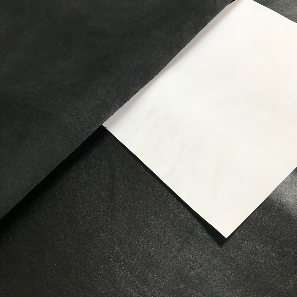 КРС гладкий, 1.1-1.3, NAPPACOLORS, цвет Black, MASTROTTO, Италия