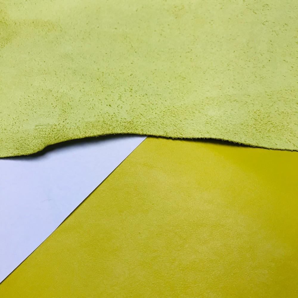 КРС гладкий, 1.1-1.3 мм, NAPPACOLORS, цвет Canary, MASTROTTO, Италия