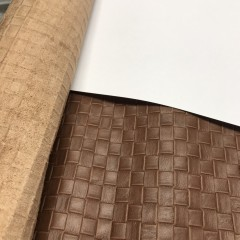 КРС, 0,8-1,0 мм, TUSCANIA, цвет Brown с тиснением, MASTROTTO, Италия