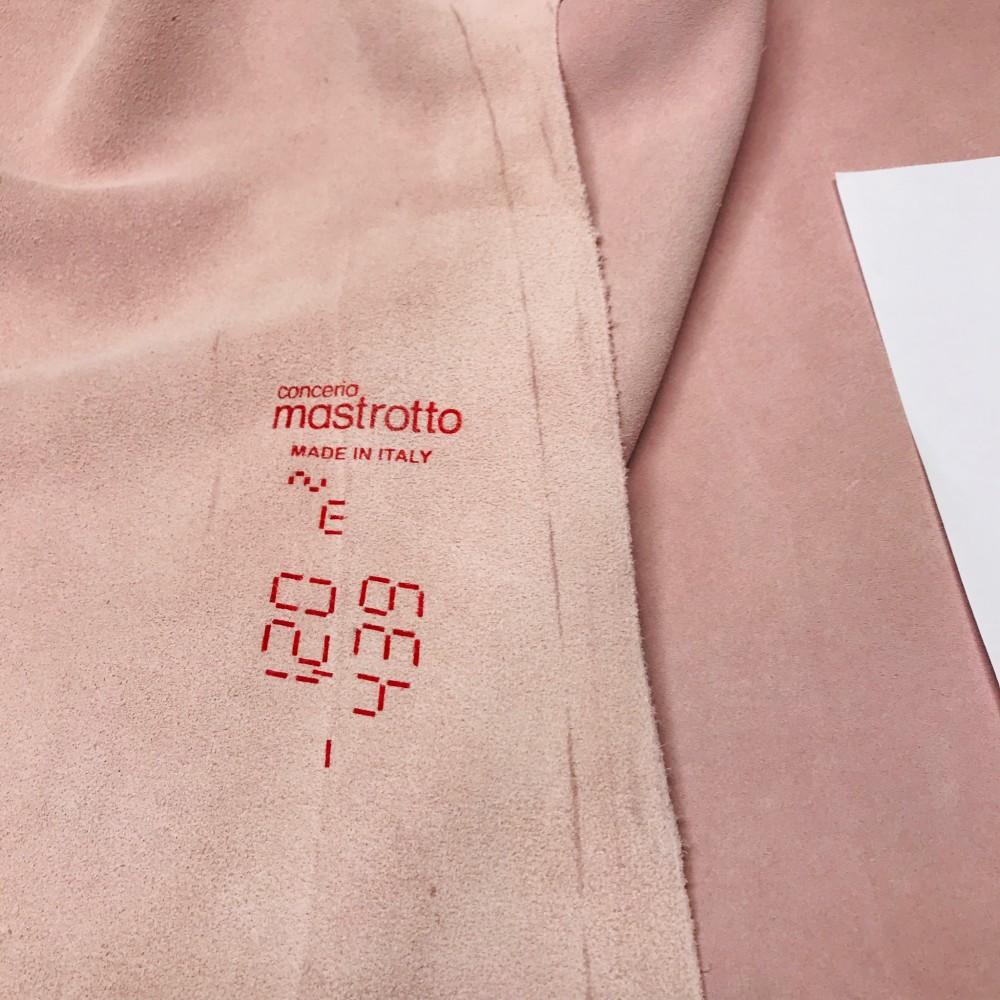 КРС, кроста, 1.2-1.4 мм, VESUVIOCOLORS, цвет Lotus, MASTROTTO, Италия