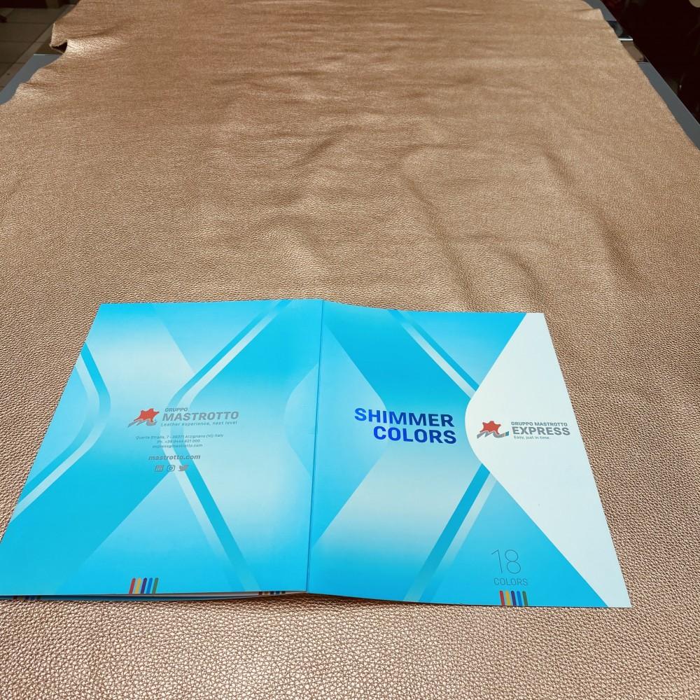 КРС флотер ламинированный, SHIMMERCOLORS, цвет Pesca, 1.2-1.4 мм, MASTROTTO, Италия
