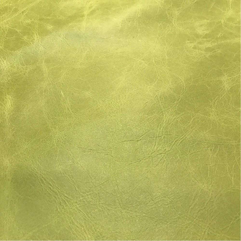 КРС с эффектом Pull up, 1,0 мм, TUSCANIA, цвет CELERY, MASTROTTO, Италия