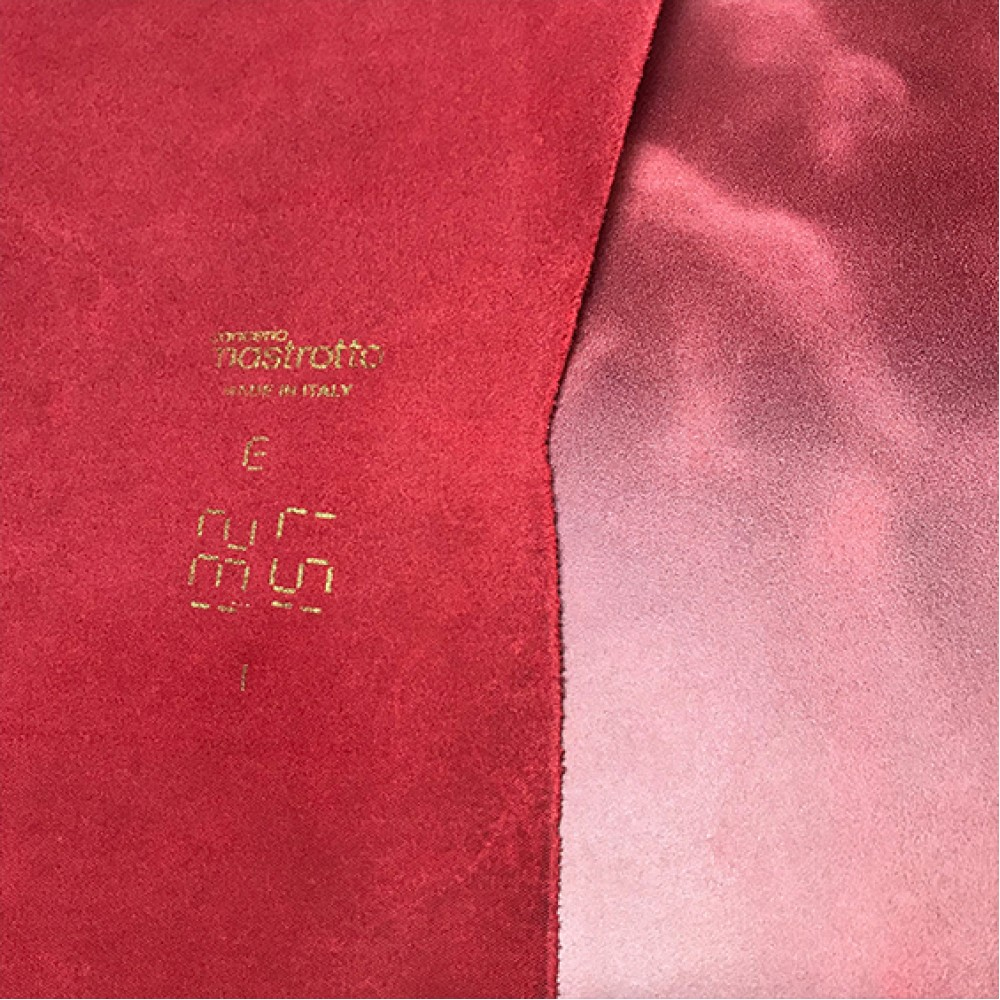 Кожа КРС, ORLANDOCOLORS, 1,4-1,6 мм, цвет Santa Claus, MASTROTTO, ИТАЛИЯ