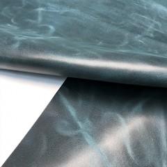 Кожа КРС, ORLANDOCOLORS, 1,4-1,6 мм, цвет PETROL, MASTROTTO, ИТАЛИЯ