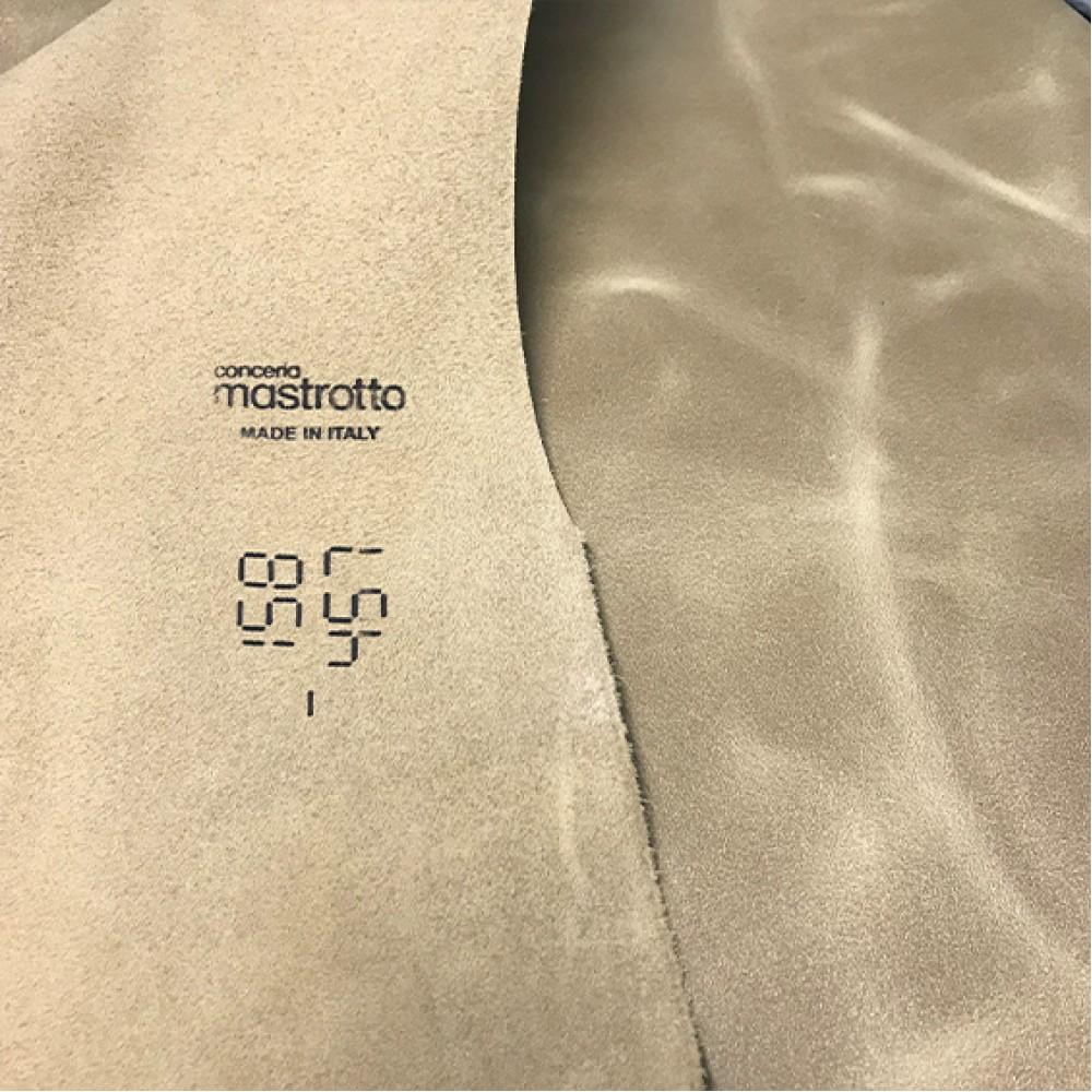 Кожа КРС, ORLANDOCOLORS, 1,4-1,6 мм, цвет Cappuccino, MASTROTTO, ИТАЛИЯ