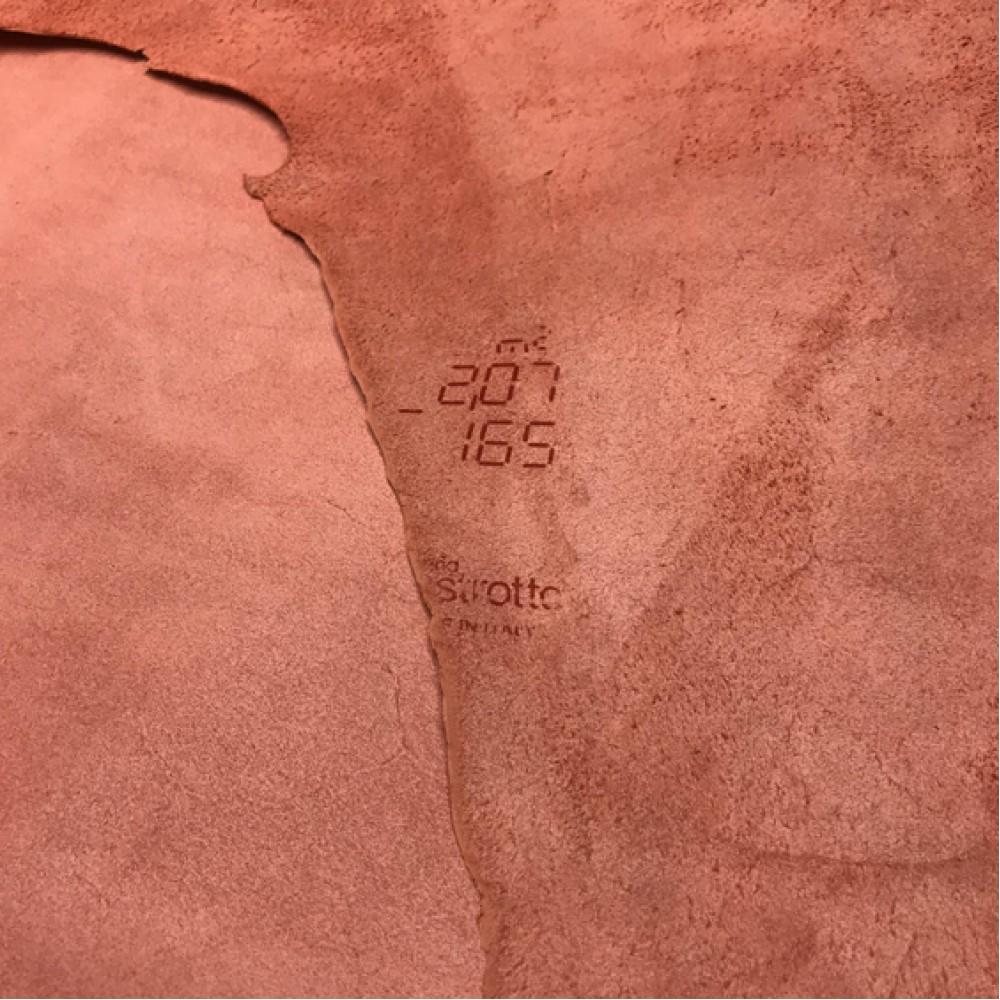 КРС гладкий, 1.1-1.3 мм, NAPPACOLORS, цвет Lilium, MASTROTTO, Италия