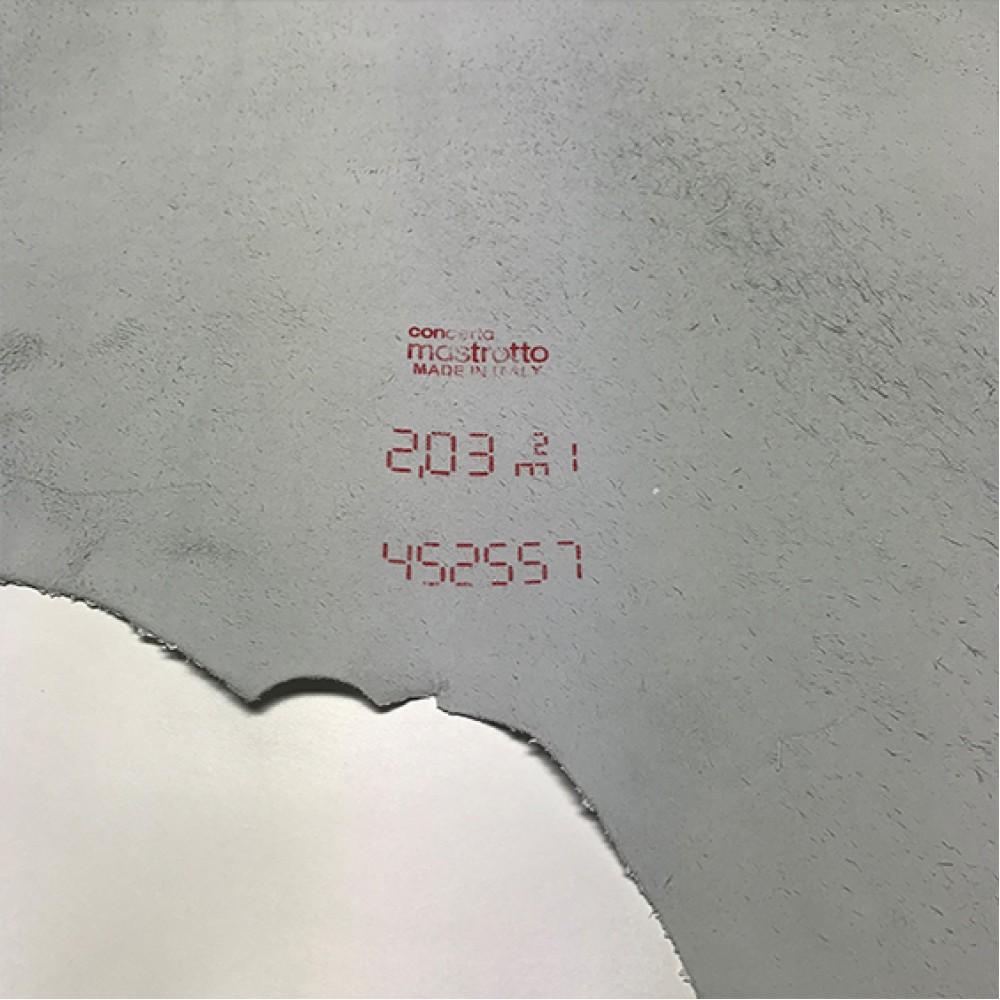 КРС гладкий, 1.1-1.3 мм, TRILLCOLORS, цвет Bianco, MASTROTTO, Италия