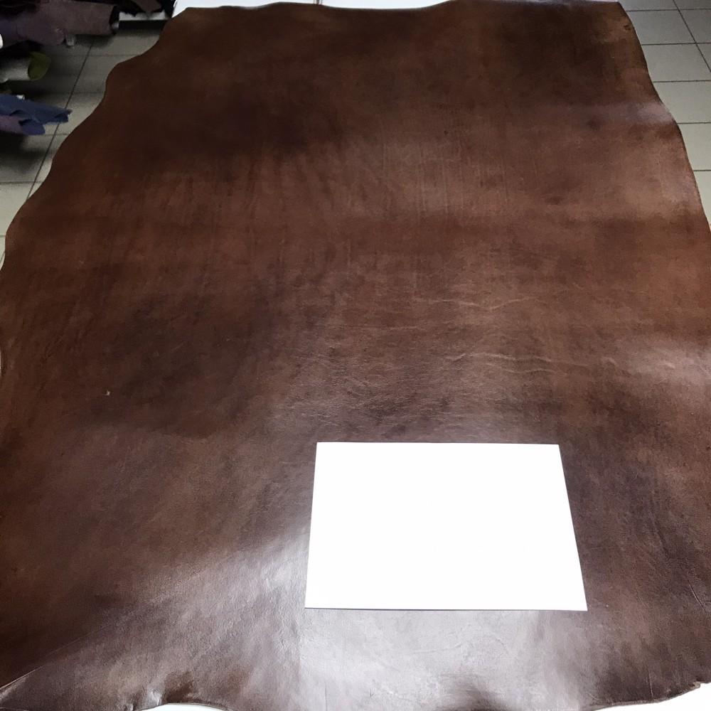Плечи растительного дубления, 2.8-3.0 мм, цвет 904 коричневый, MEDUSA, MONTANA, Италия