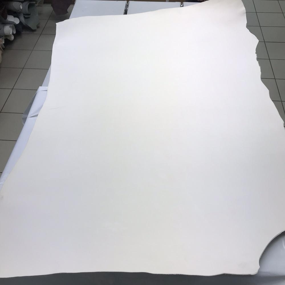 Плечи коровы, 3.0-3.2 мм, белый цвет, full grain, CUOIFICIO OTELLO, Италия