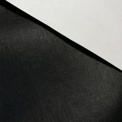 КРС с тиснением Saffiano, чёрная, 1.0-1.2 мм, ИТАЛИЯ
