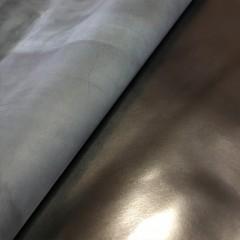 Наппа овцы, чёрная, глянцевая, сорт ЭКСТРА, 0.7-0.9 мм, STEFANIA, Италия