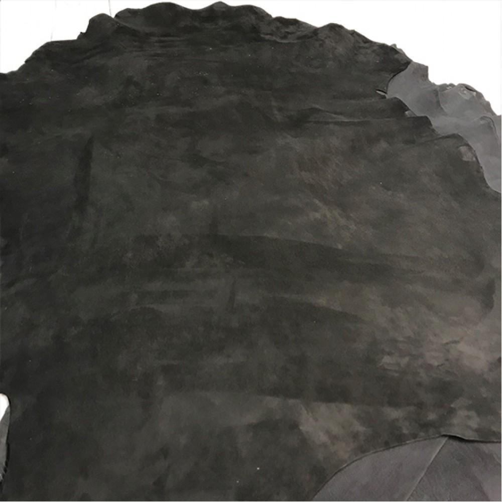 Велюр чёрный, 1.0-1.1 мм, VELUKID LAVATO, STEFANIA, Италия