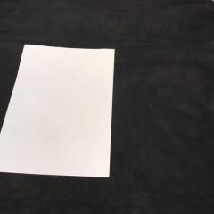 Велюр чёрный, 0,8-1,0 мм, сорт 2, STEFANIA, Италия