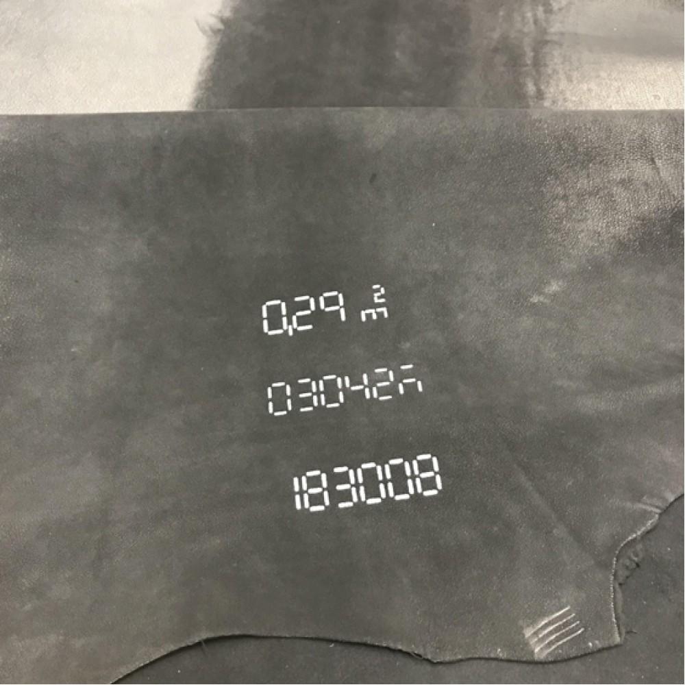 Велюр чёрный, 1,0-1,1 мм, сорт высший, STEFANIA, Италия