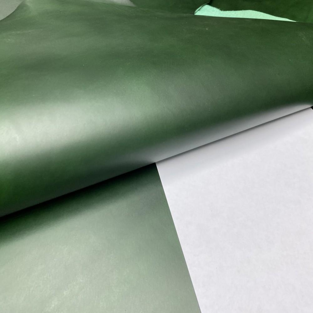 Пола растительного дубления, 1.2 мм, цвет 11 green, BUTTERO, WALPIER, Италия